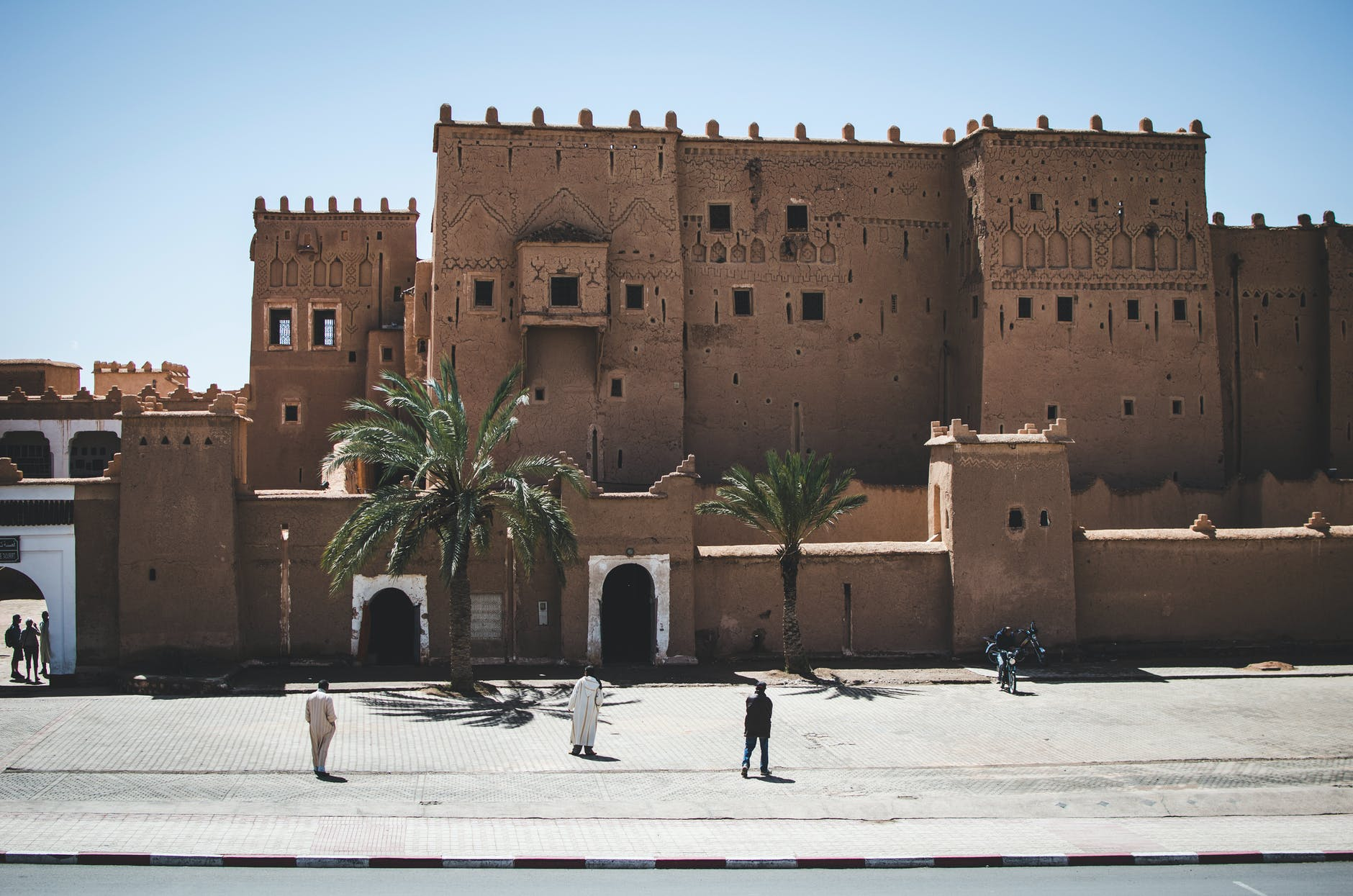 brown concrete building Kasbah